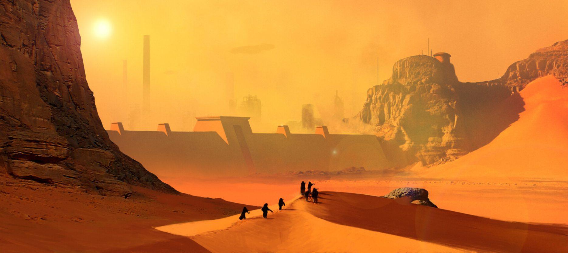Dune, Die Ordensburg des Wüstenplaneten (1985)