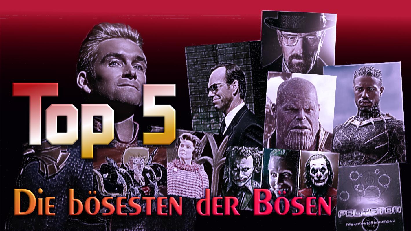 Top Five: die bösesten der Bösen in Literatur und Film